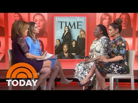 MeToo Creator Tarana Burke And Alyssa Milano: 'It's Not Just A Moment, It's A Movement' | TODAY