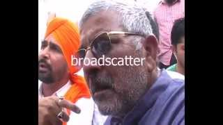 AAP Patiala Dharamvir Gandhi Attacked