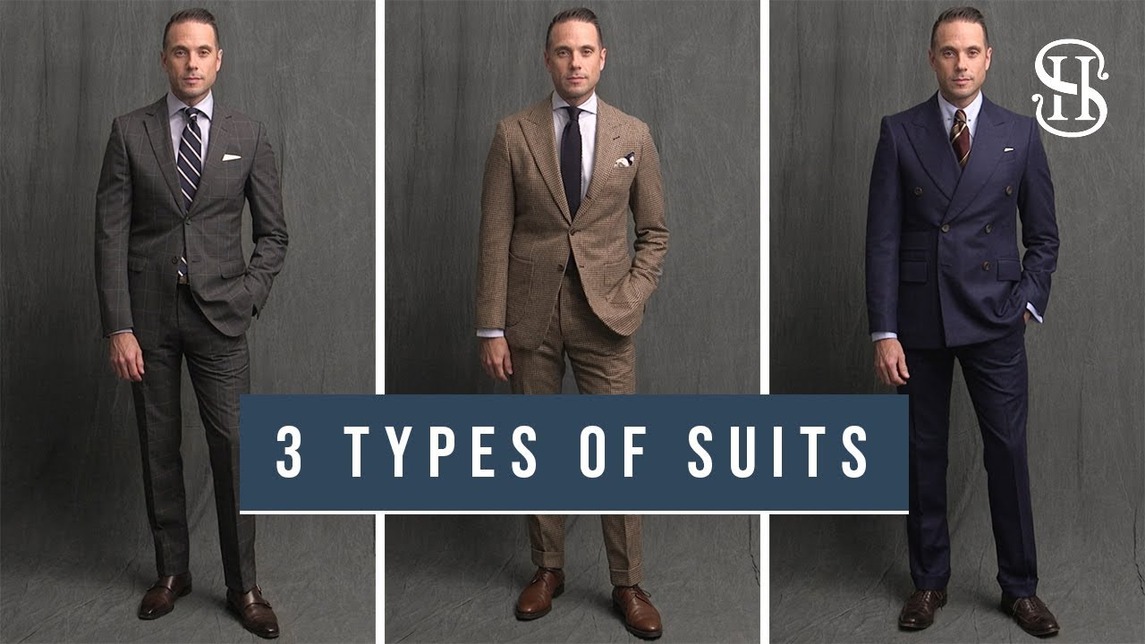 3 Different Types Of Suits Off The Rack Made To Measure Bespoke Youtube