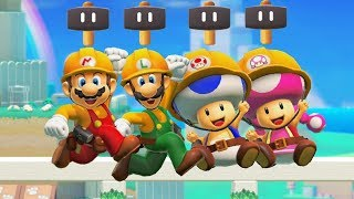 Super Mario Maker 2 - New Power-Up Super Hammer Gameplay
