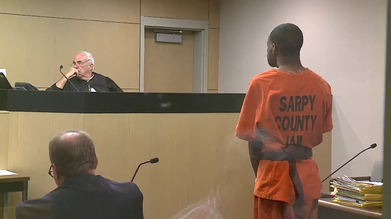 Murder suspect Christopher Reagan appears in Sarpy court