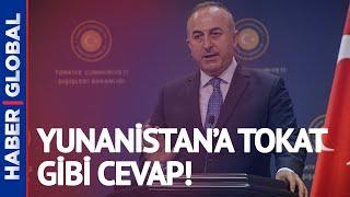 Çavuşoğlu Dendias Toplantısında Gerginlik! 'Türkiye'yi Suçlarsanız Cevabını Vermek Zorunda Kalırım!'