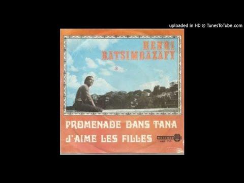 PROMENADE DANS TANA--HENRI RATSIMBAZAFY--1969