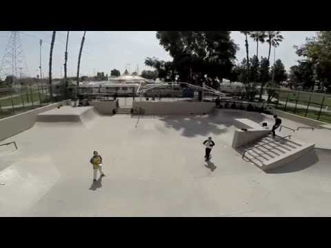 Salt Lake Skate Park, Huntington Park CA - Dji Phantom