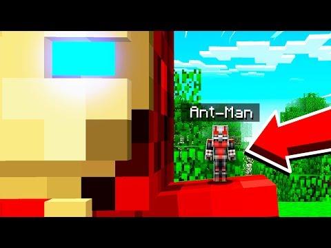 ant man mod minecraft