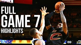 Download Warriors vs Cavaliers: Game 7 NBA Finals - 06.19.16 Full Highlights Mp3 and Videos