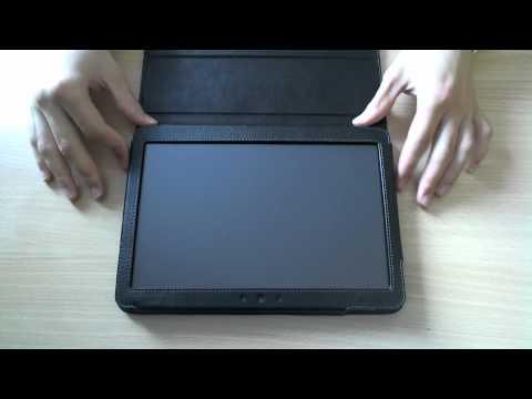 Samsung Galaxy Tab 10.1v Leder Case