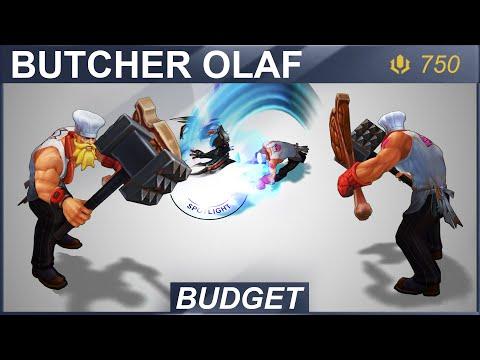 Butcher Olaf Skin Spotlight 2020 | SKingdom - League of Legends