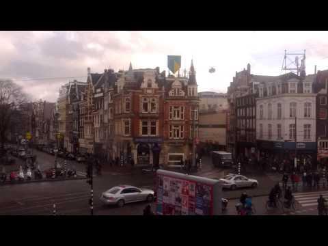 Timelapse Muntplein Amsterdam - 22/2/2014
