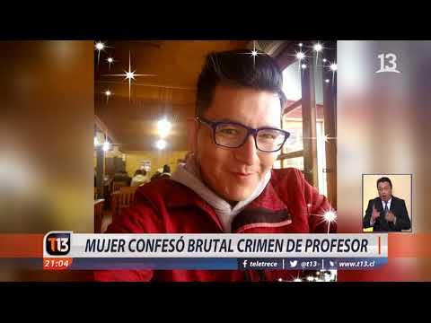 Ex pareja confesó crimen de profesor en Valparaíso