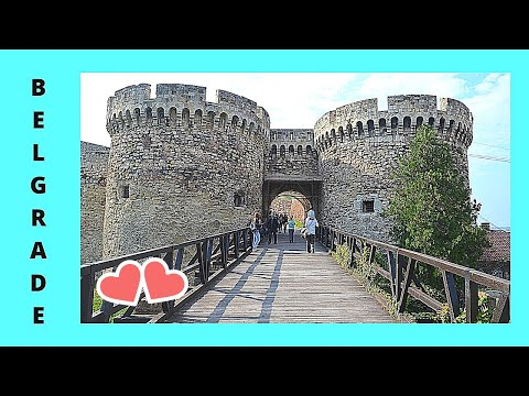 A tour of the historic Belgrade Fortress (Serbia)