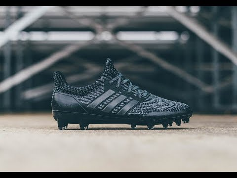 lowest price e7e38 d39ed ULTRABOOST CLEATS TRIPLE BLACK REVIEW UNBOXING