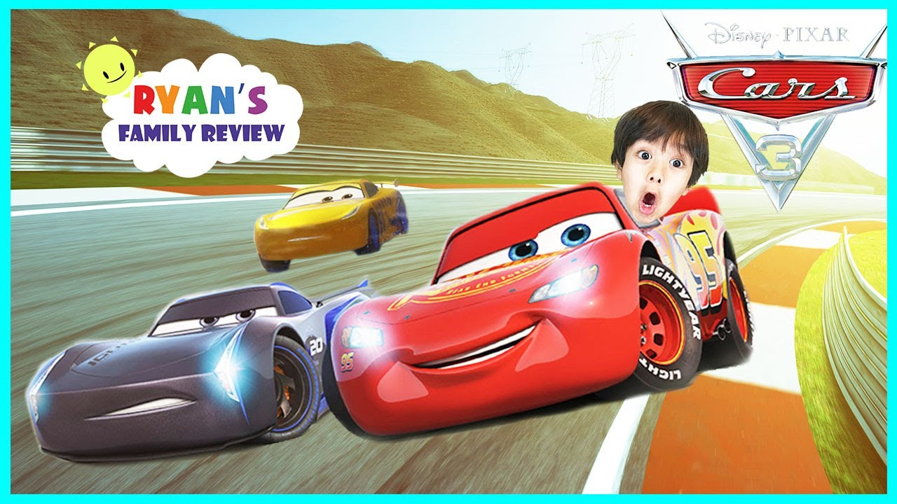 Cars 3 Driven To Win Gameplay Racing Game Lightning Mcqueen Let S Play With Ryan S Family Review