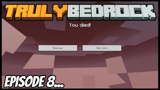 Falling Through The Overworld... - Truly Bedrock (Minecraft Survival Let's Play) Episode 8