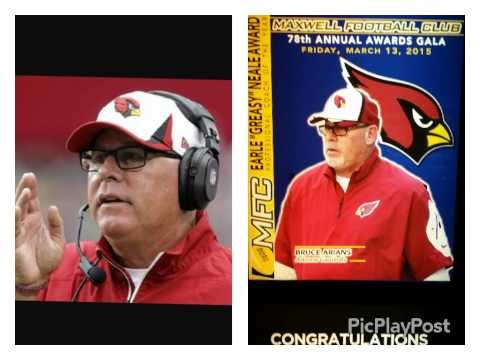 MAXWELL AWARDS - Bruce Arians (AFL Coffee Grinds)