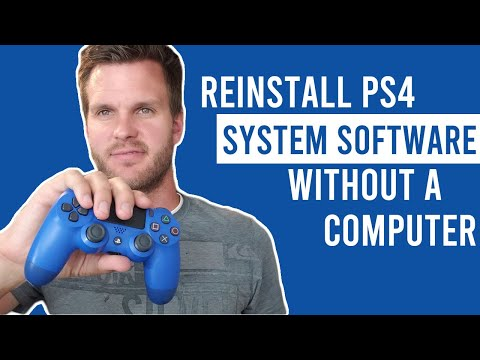 How to Reinstall System Software on PS4 without a Computer