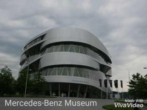 Mercedes-Benz Museum, Stuttgart, Germany.
