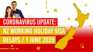 New Zealand Working Holiday Visa - Coronavirus Delays- NZPocketGuide.com