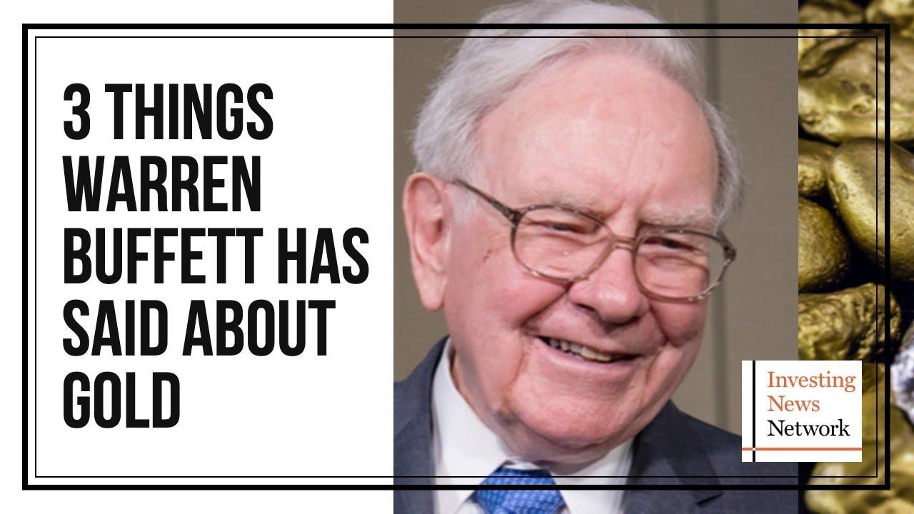 Buffett on investing in gold investment adviser code of ethics final rule