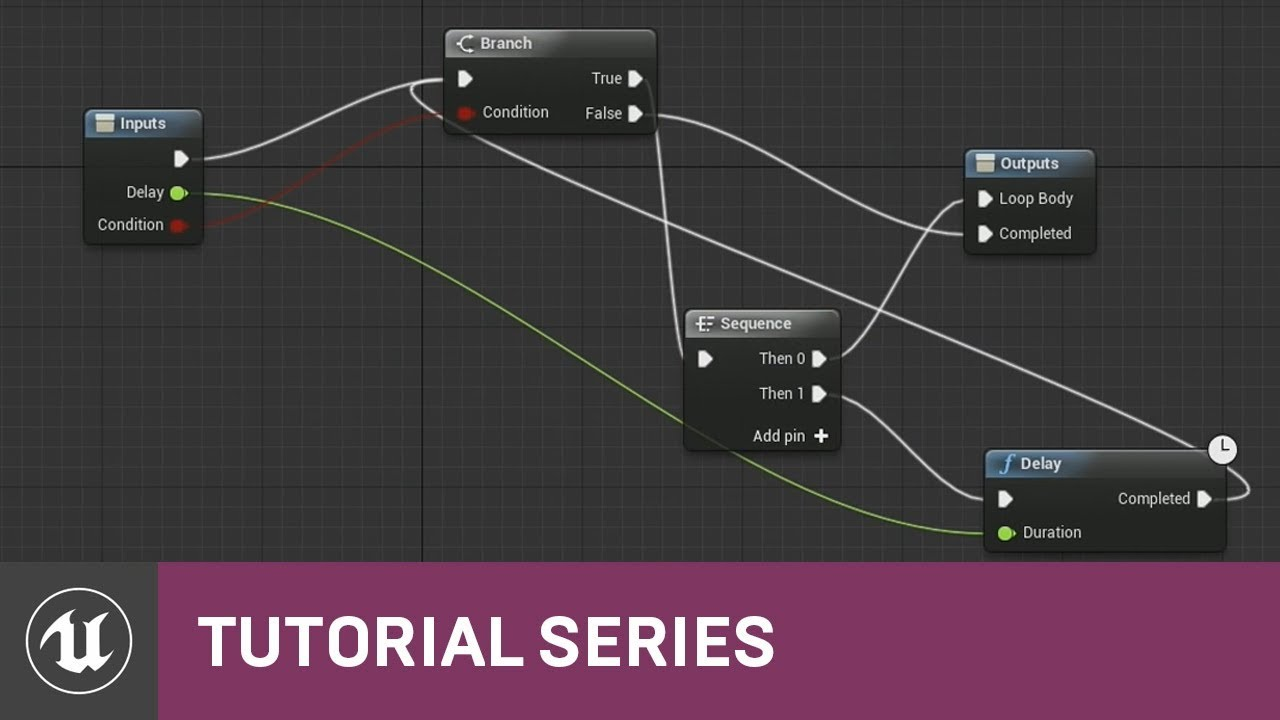Blueprint Essentials: Custom Loops | 14 | v4 2 Tutorial Series | Unreal  Engine