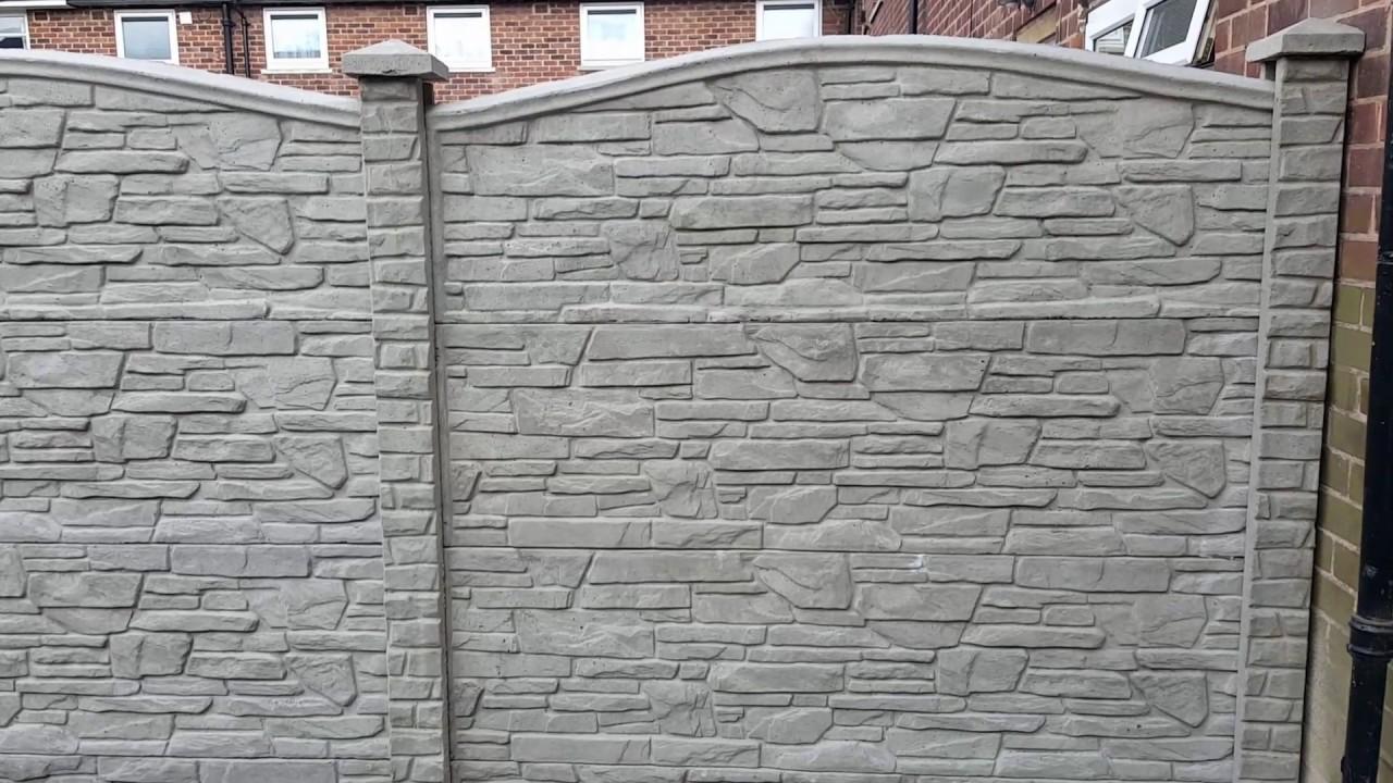 Decorative fence panels, www.eurofence-uk.com - YouTube