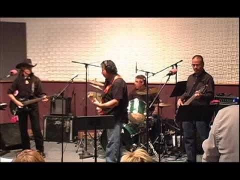 """The """"Rick Garcia Band"""" playing at KUVO's 25 annive..."""