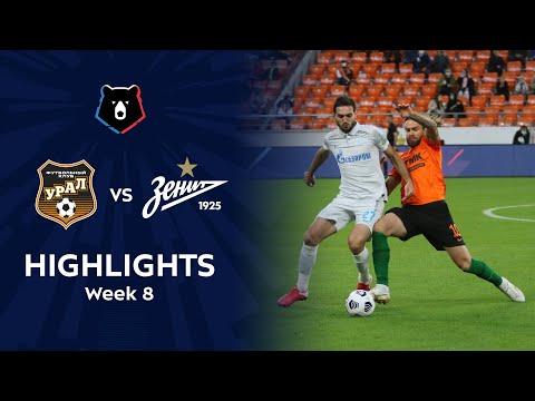 Ural Zenit Petersburg Goals And Highlights