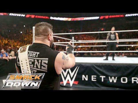 Roman Reigns vs. Kevin Owens: SmackDown, October 29, 2015