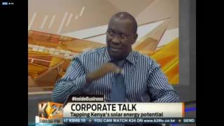 Davis & Shirtliff's David Bolo, General Manager Service interview on K24 #InsideBusiness
