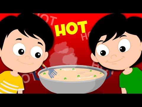 Peas Porridge Hot | Nursery Rhymes For Babies And Kids Childrens Song | kids tv cartoons
