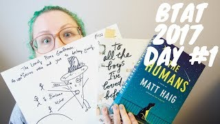 BOOKTUBE-A-THON VLOG: DAY 1 (INSTAGRAM & BOOKTUBE CHALLENGES!)