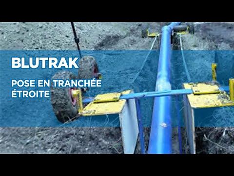 Comment poser des tuyaux en fonte ductile en tranchée étroite ? BLUTRAK - Saint-Gobain PAM
