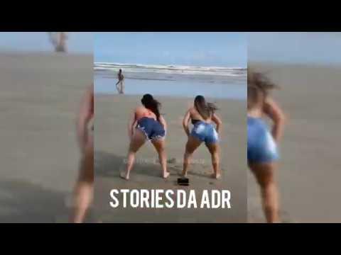 Letícia Azevedo e Tati Nunes dançando.