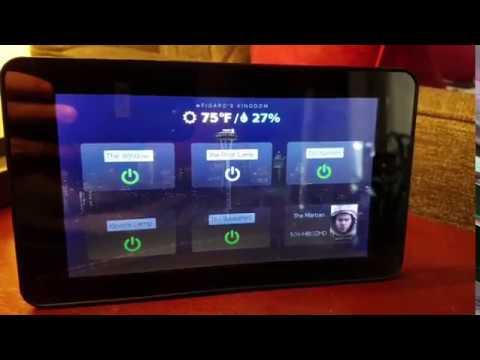 Home Automation Kiosk using Raspberry Pi
