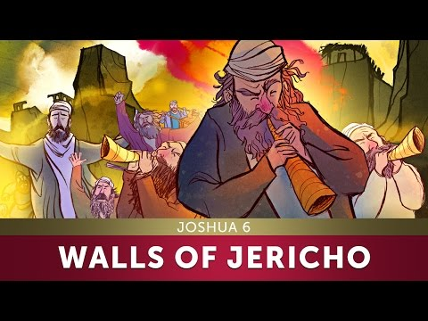 The Walls of Jericho - Joshua 6 | Sunday School Lesson and Bible