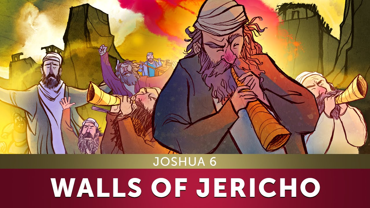 The Walls of Jericho - Joshua 6 | Sunday School Lesson and Bible Teaching  Story for Kids |HD|