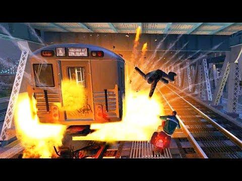 70) GTA IV - Трюки, Аварии и Приколы! (Stunts, Crashes and Fun!)