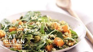Roasted Butternut Squash Quinoa Bowl  - Eat Clean With Shira Bocar