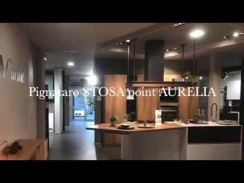 Stosa Cucine point Aurelia Arredamenti Pignataro - YouTube