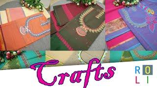 நாராயணபேட் இக்கட் காட்டன் With Embroidery   Roli Fashions   Link In Description