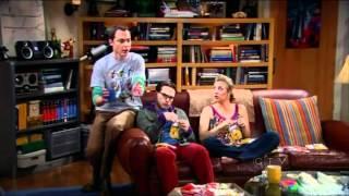 The Big Bang Theory - Sheldon High on Coffee (HD)