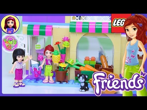 Lego Friends Heartlake Food Market Build Review Silly Play - Kids Toys