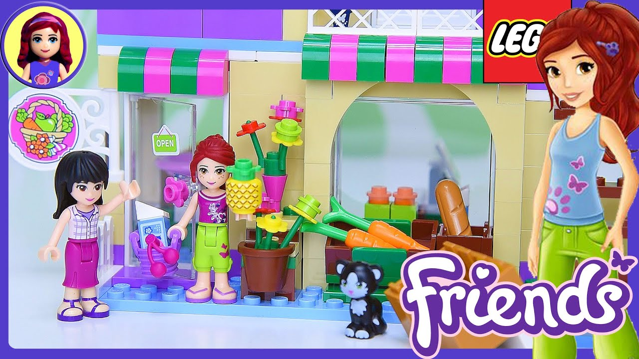 Download Lego Friends Heartlake Food Market Build Review Silly Play - Kids Toys