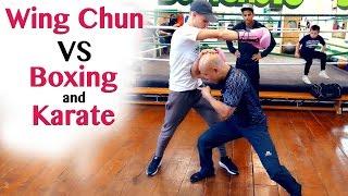 How Wing Chun Destroy a Boxer's Uppercut - Wing Chun