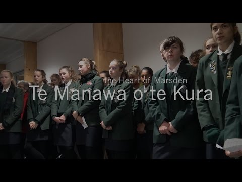 Blessing the Heart of Marsden – Te Manawa o te Kura (75sec)