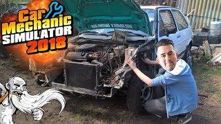 "Car Mechanic Simulator 2018 Gameplay - ""I TOOK APART THE ENGINE!!!""  - Let"
