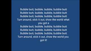 bubble butt lyrics-major lazer ft tyga bruno mars ft 2 chainz