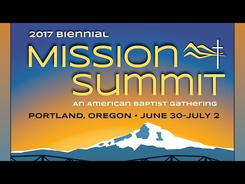 2017 Biennial Mission Summit: Sharon Koh, Lauran Bethell, Charles Jones and New Missionaries
