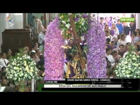 Venezuela - As� fue la procesi�n del Nazareno de San Pablo - VPItv