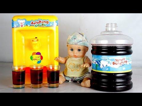 لعبة كولدير العصير الحقيقى الجديد بنات واولاد اجمل العاب الاطفال real juice cooler toy game